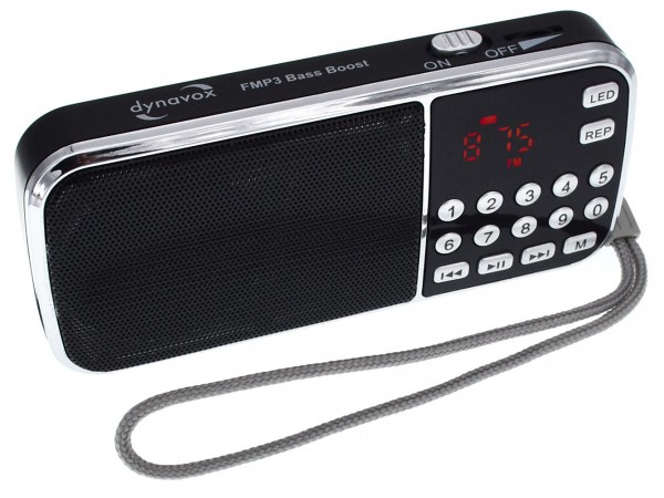 Dynavox MP3 Radio Bass Boost.